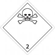 46508 - Etiquette danger classe 2.3