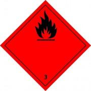 étiquette de danger classe 3