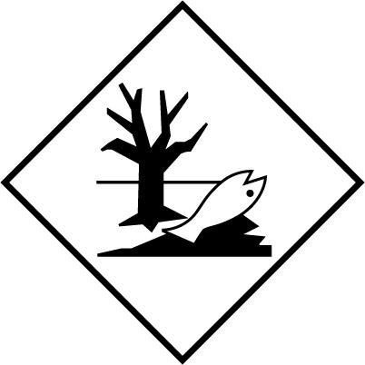 46272 – Etiquette danger Polluant marin