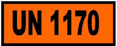 46450T – paneau orange maritime avec n° ONU