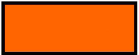 panneau orange maritime vierge