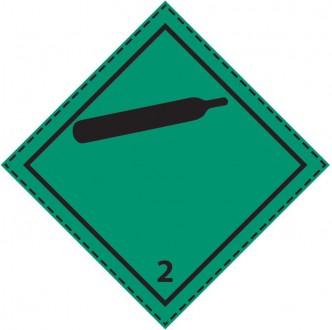 Etiquette de danger classe 2.2