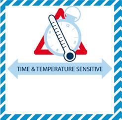 time and temperature iata